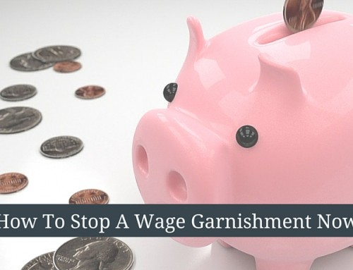How to Stop a Wage Garnishment