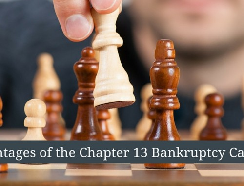 Some Advantages of Chapter 13 Bankruptcy Cases