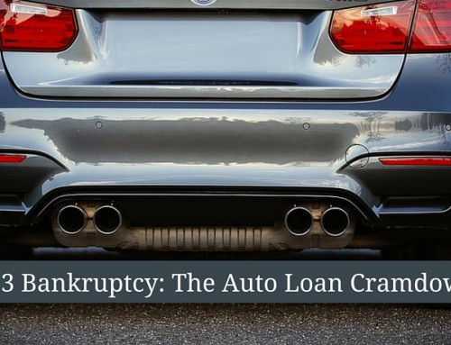 The Auto Loan Cramdown in Chapter 13 Bankruptcy