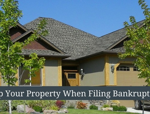 The Key To Keeping Your Property…What To Do Before Filing Bankruptcy