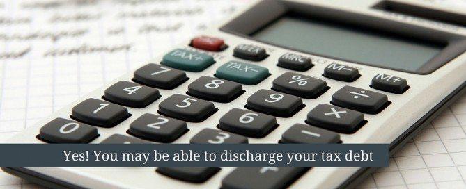 discharging tax debt
