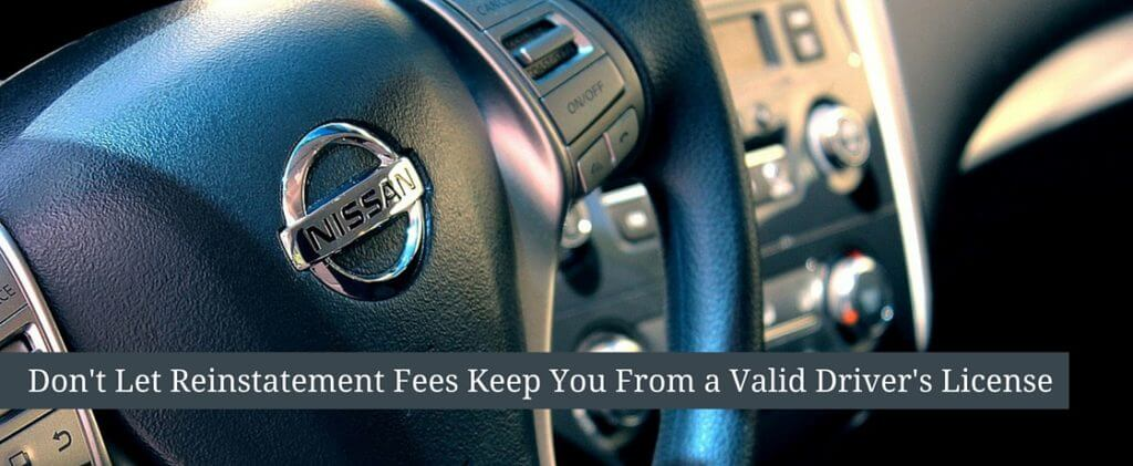 reinstatement fees