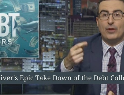 Watch John Oliver's Epic Takedown of Debt Buyers