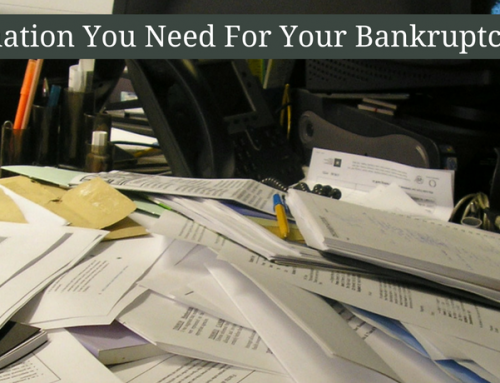 Preparing for Your Bankruptcy Consultation