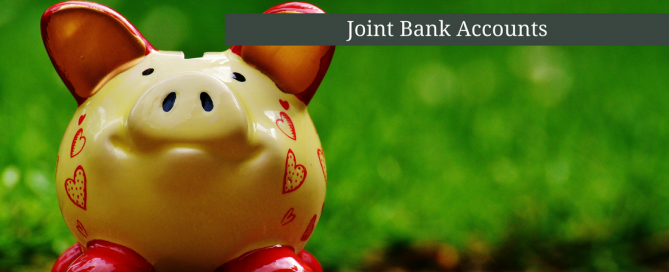 joint bank account